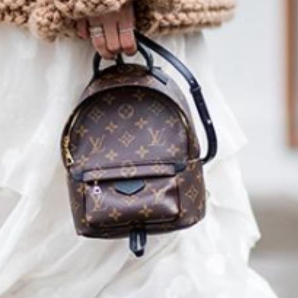 Louis Vuitton Handbags - Authentic Louis Vuitton palm spring mini backpack